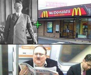 funny, hitler, and lol image