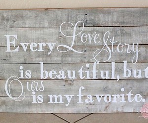 love, beautiful, and story image