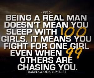 real man, love, and quote image
