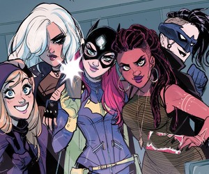 batgirl, barbara gordon, and blackcanary image
