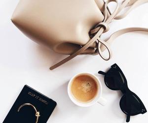 fashion, coffee, and bag image