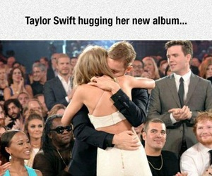 funny, Taylor Swift, and calvin harris image