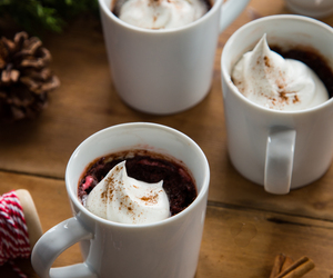 Cinnamon, marshmallow, and mugs image