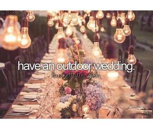 bucketlist, marriage, and wedding image