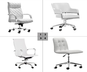 modern office chairs, conference room chairs, and writing desks image