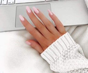 computer, white, and nails image