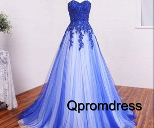 blue and prom dress image