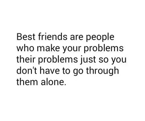 best friends and problem image
