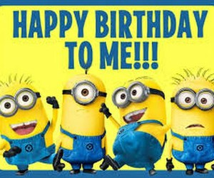 birthday, minions, and happy image