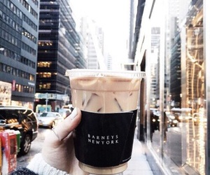 coffee, city, and new york image