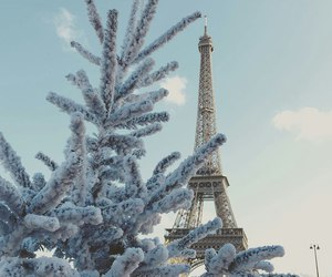 paris, christmas, and love image