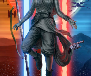 rey and star wars image