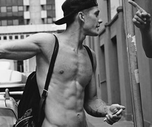 abs, snapback, and cute image