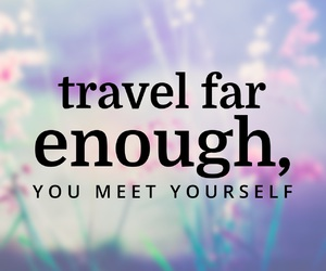 quotes, travel, and travel quotes image