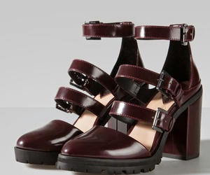 burgundy, grunge, and shoes image