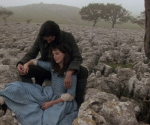 wuthering heights, big love, and heathcliff image