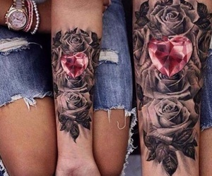 cool, tattoo, and hearth image