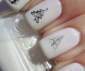 nails, giraffe, and white image