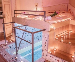 bedroom, home, and bedroom goals image