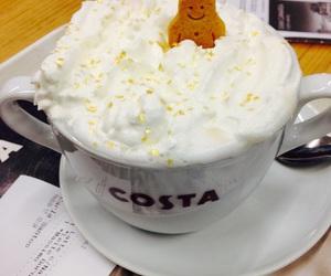 christmas, coffe, and coffee addict image