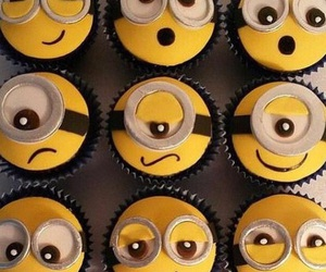 minions, food, and cake image