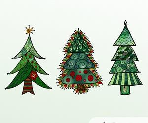 creative, green, and polka dots image