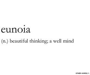 quotes, words, and eunoia image