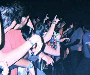 concert, indie, and grunge image