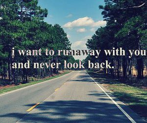 quotes, text, and runaway image