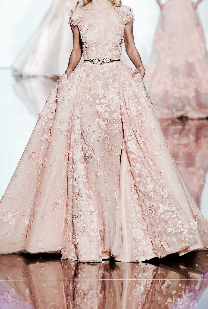 dress, pink, and model image