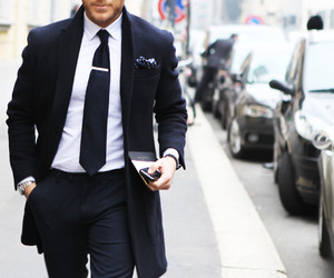 suit, fashion, and man image