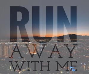 away and run image