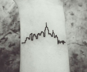 tattoo and city image