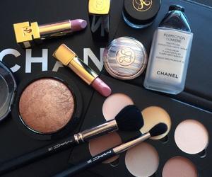 chanel, makeup, and lipstick image
