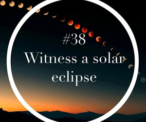 goal, solar eclipse, and witness image