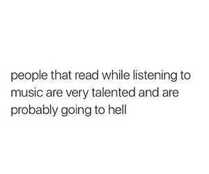 books, funny, and hell image
