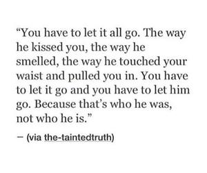 quote, him, and sad image
