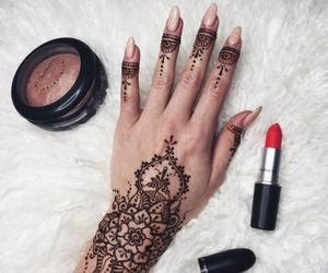 henna, nails, and tattoo image