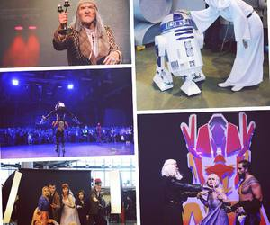 cosplay, doctor who, and star wars image