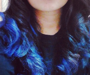 blue, bluehair, and color image