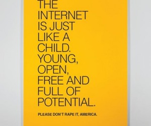 america, internet, and child image