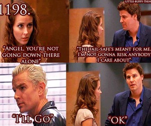 btvs, ángel, and funny image