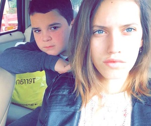 blue eyes, brother, and little bro image
