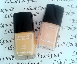 beige, nail, and nails image