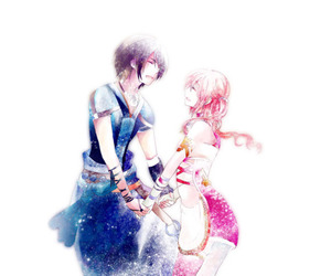 noel kreiss, serah farron, and final fantasy xiii-2 image