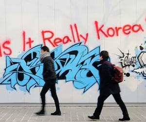 art, pale, and graffiti image