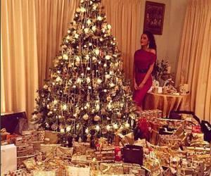 christmas, gift, and christmas tree image