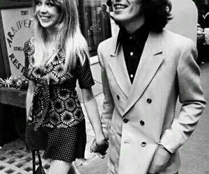 george harrison, pattie boyd, and beatles image