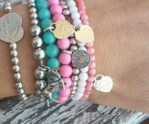 beautiful, bracelet, and christmas image