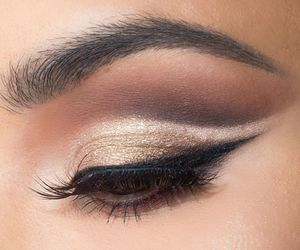 beauty, nails, and eye shadow image